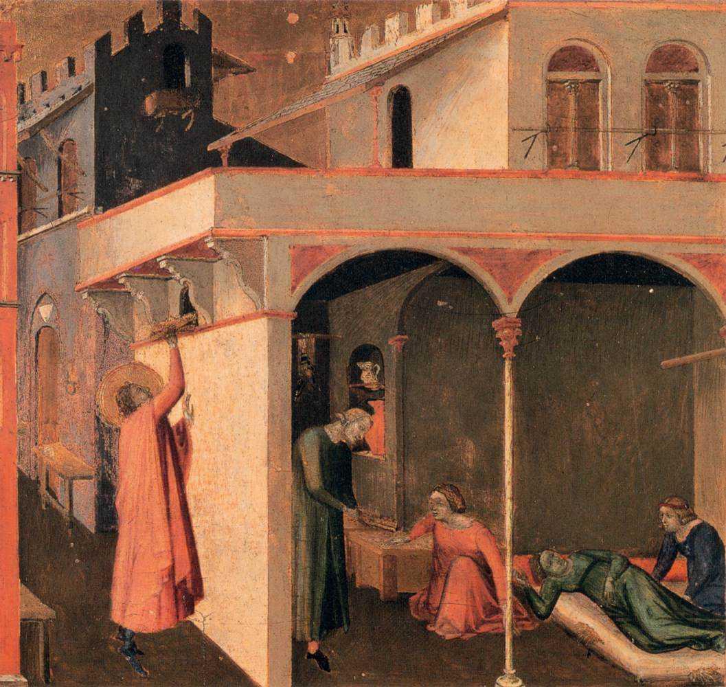 Ambrogio lorenzetti scény ze života svatého Mikuláše 03