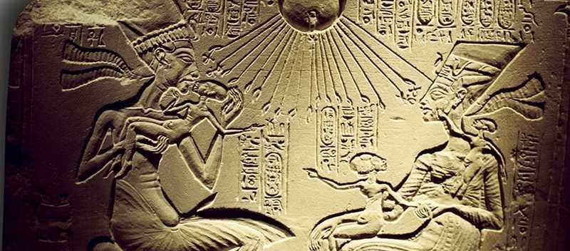 Co byl Aton slunecni disk faraona Achnatona 1