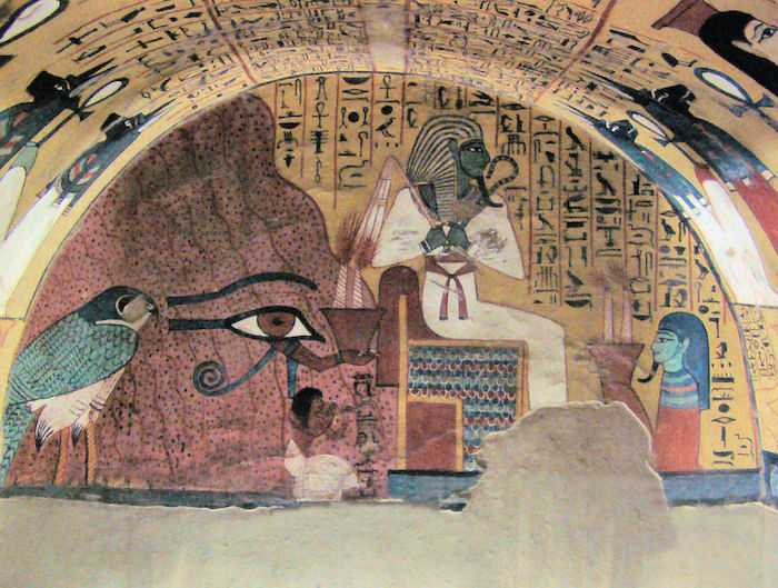 Egyptian Eye in Tomb TT3 of Pashedu Kairoinfo4u