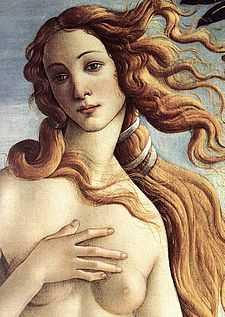Sandro Botticelli The Birth of Venus detail WGA2774