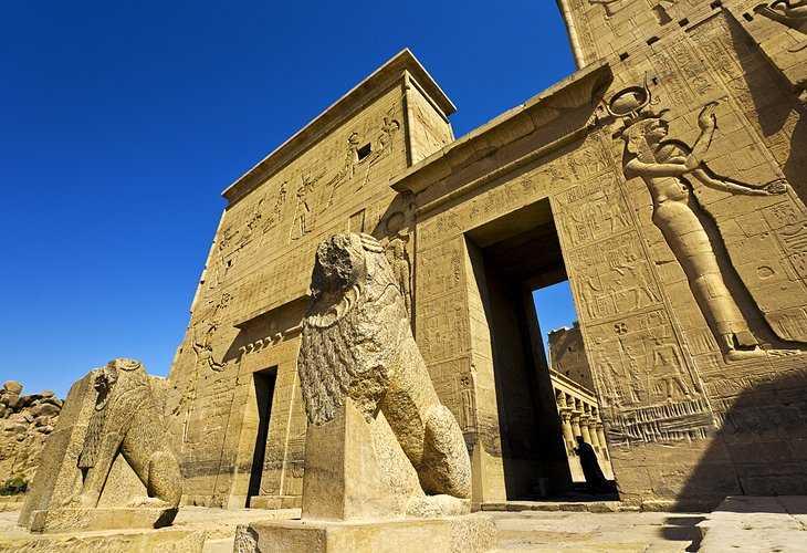 egypt philae first pylon