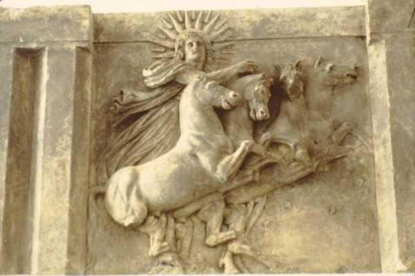 sol roman sun god chariot relief pergamon museum 14861068