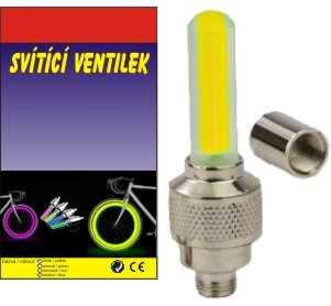 vyr 57 LED svitici ventilek zluty lemac