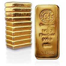 zlate cihly 1 Kg slitek